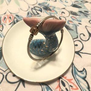 Pandora Jewelry - PANDORA Silver Charm Bracelet with Rose Clasp